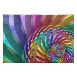 Metallic Rainbow Placemat