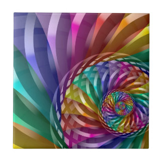 Metallic Rainbow Tile