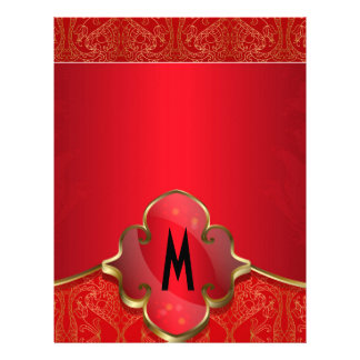 Metallic red,gold,chic,elegant,beautiful,template, letterhead