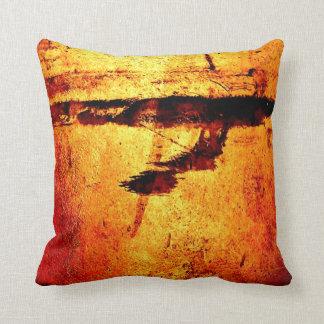 """""""Metallic Red Stain"""" JTG Art Pillow"""
