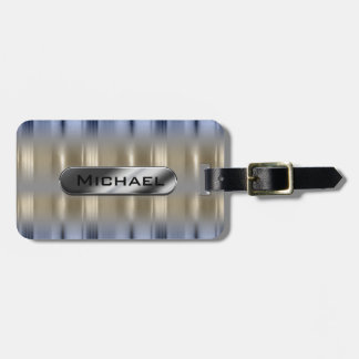 Metallic Reflections and Nameplate ID287 Bag Tag