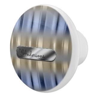 Metallic Reflections and Nameplate ID287 Ceramic Knob