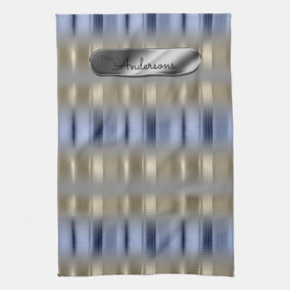 Metallic Reflections and Nameplate ID287 Kitchen Towel