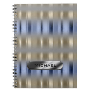 Metallic Reflections and Nameplate ID287 Notebooks