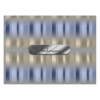 Metallic Reflections and Nameplate ID287 Tablecloth