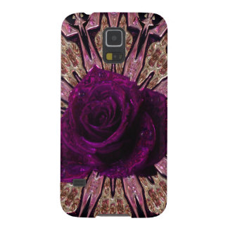 """Metallic Rose Abstract""device/skins/cases"".* Galaxy S5 Cover"