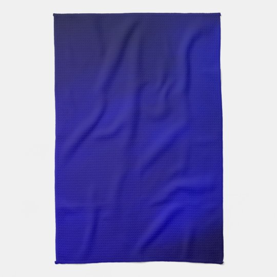 Metallic Royal Blue Kitchen Towels