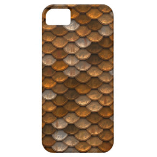 Metallic Scales Print Case For The iPhone 5