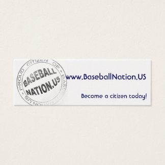 Metallic Skinny Cards - BaseballNation