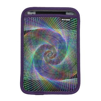 Metallic spiral iPad mini sleeve