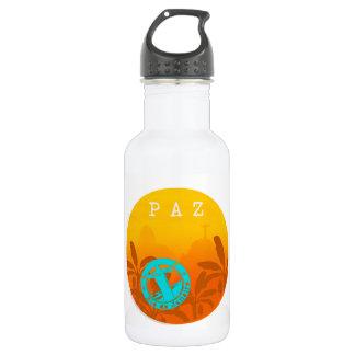 Metallic Squeeze Peace in Rio De Janeiro Aya 532 Ml Water Bottle