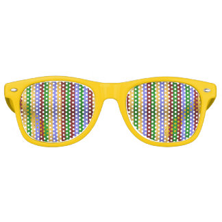 Metallic Stripes Party Shades