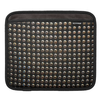 Metallic Studs Pattern iPad Sleeve