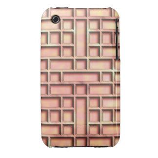 Metallic Sunset Lattice iPhone 3 Case-Mate Case