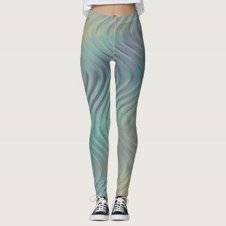 Metallic Swirl Leggings