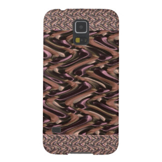 Metallic- THANKS to mother earth add text white Galaxy S5 Case