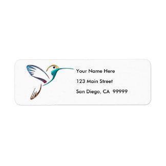 Metallic Tropical Hummingbird