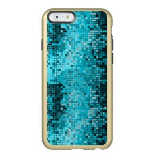 Metallic Turquoise Sequence Look Disco Mirrors Incipio Feather® Shine iPhone 6 Case