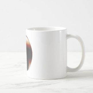 Metallic Yin Yang Coffee Mug