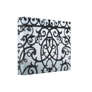 Metalwork Wrapped Canvas