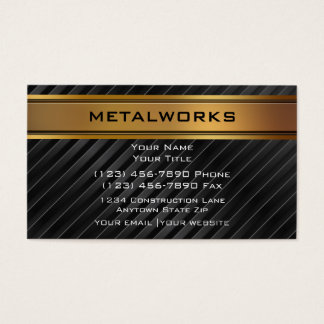 Metalworks Business Cards