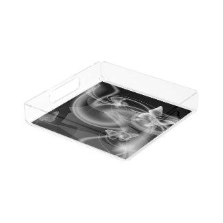 Metamophosis - Butterfly Girl Acrylic Tray