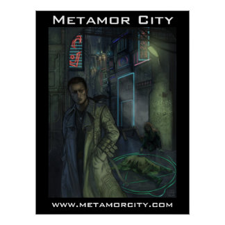 Metamor City: Scene of the Crime Poster