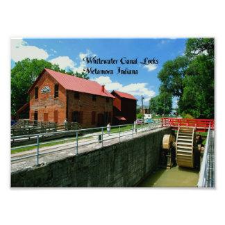 Metamora Indiana Feed Mill Photo Print