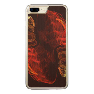 Metamorphosis Abstract Art Carved iPhone 7 Plus Case