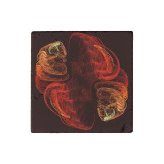Metamorphosis Abstract Art Stone Magnets
