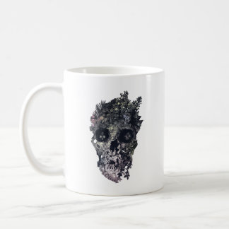 Metamorphosis Skull Coffee Mug