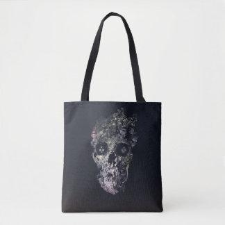 Metamorphosis Skull Tote Bag