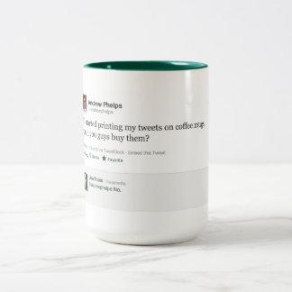 #metamug Two-Tone coffee mug