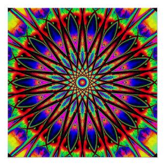 Metaphysical Compass Mandala Poster
