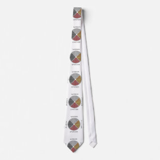 Metaphysical Medicine Wheel Men's Tie