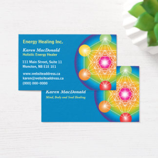 Metatron's Cube Business Card