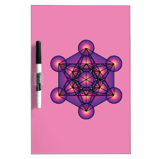 Metatron's Cube Dry Erase Board