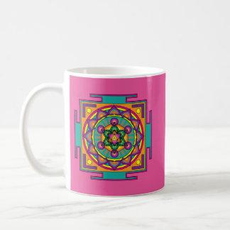 Metatron's Cube Mandala Coffee Mug