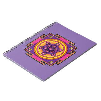 Metatron's Cube Mandala Notebooks