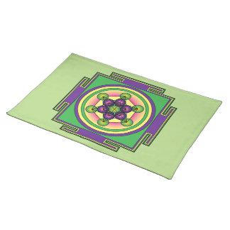 Metatron's Cube Mandala Placemat