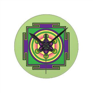 Metatron's Cube Mandala Wallclock
