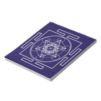 Metatron's Cube Notepad