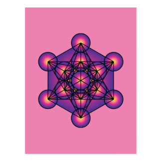 Metatron's Cube Postcard
