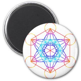 Metatron's Cube (Color 2) Magnet