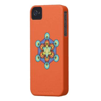 Metatron's Cube Merkaba Case-Mate iPhone 4 Case