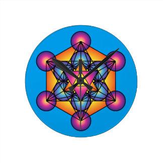 Metatron's Cube Merkaba Clocks