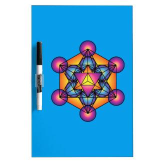 Metatron's Cube Merkaba Dry Erase Board