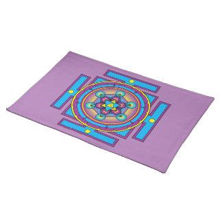 Metatron's Cube Merkaba Mandala Placemat