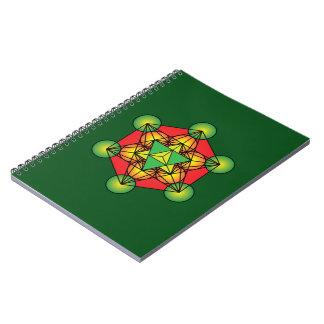 Metatron's Cube Merkaba Notebook
