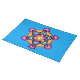 Metatron's Cube Merkaba Placemat